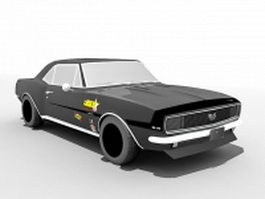 Chevrolet Camaro muscle car 3d preview