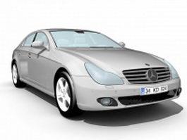 Mercedes-Benz C-Class sedan 3d model preview