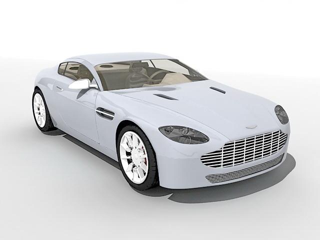 Bentley car 3d rendering