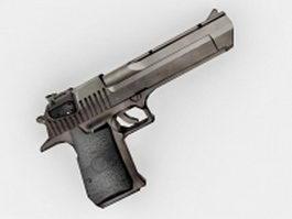 IMI Desert Eagle handgun 3d model preview