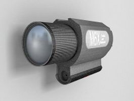 M6x tactical laser illuminator 3d preview