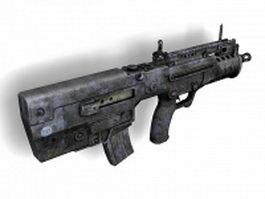 TAR-21 assault rifle 3d model preview
