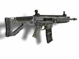 Bushmaster ACR rifle 3d model preview