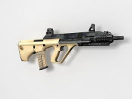 Steyr AUG assault rifle 3d preview