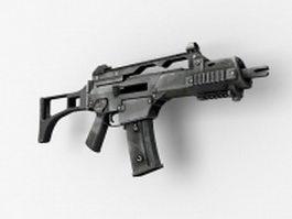 Heckler & Koch G36C carbine 3d model preview