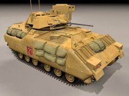 M2A2 Bradley fighting vehicle 3d preview