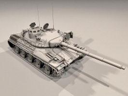 AMX-30 main battle tank 3d model preview