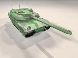 AMX Leclerc MBT 3d model preview