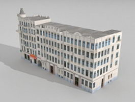 Typical Russian apartment 3d model preview