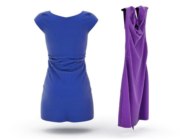 Jumper dress 3d rendering