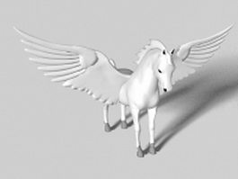 Pegasus statue 3d preview