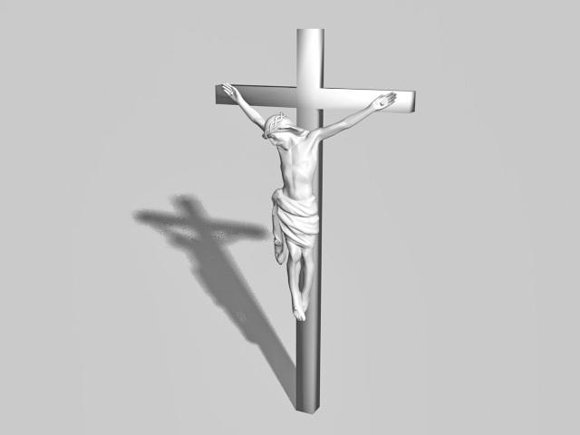 Crucifixion of Jesus 3d rendering