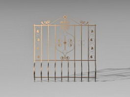 Security window guards 3d preview
