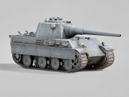 Self-propelled howitzer 3d preview