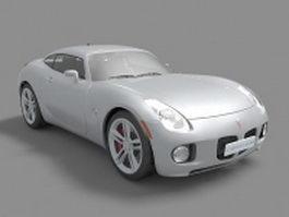 Pontiac Solstice sports car 3d preview