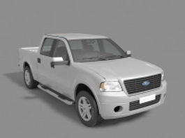 Ford F-150 pickup truck 3d preview