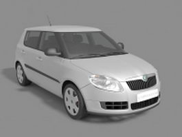 Skoda Fabia hatchback 3d preview