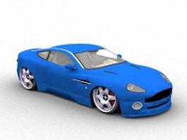 Aston Martin DB7 Zagato 3d preview