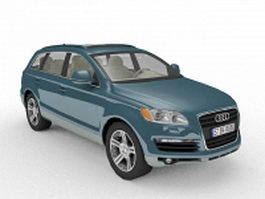 Audi Q7 SUV 3d preview
