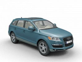 Audi Q7 car 3d preview