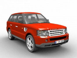 Range Rover SUV 3d preview