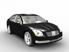Nissan Maxima car 3d model preview