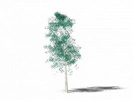 Small ornamental tree 3d model preview