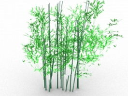 Bamboo plant 3d preview