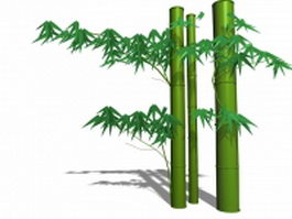 Bamboo stem 3d preview