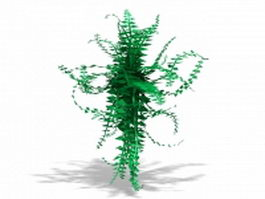 Greenery vines 3d preview