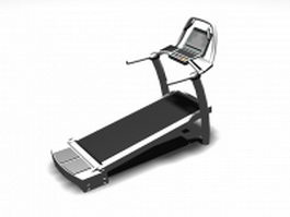 Exercise treadmill 3d preview
