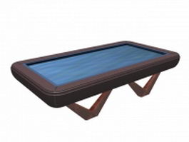 Billiard table 3d preview