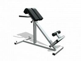 Strengthening leg exercise equipment 3d preview