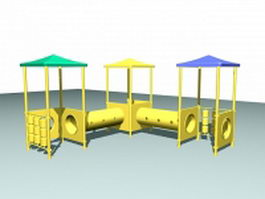 Outdoor play equipment toy 3d preview