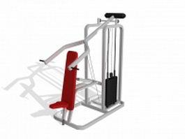 Body lift equipment 3d preview