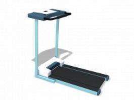 Treadmill running machine 3d preview