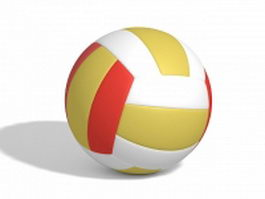 Volleyball ball 3d preview