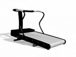 Treadmill machine 3d preview