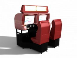 Car racing arcade games machines 3d preview