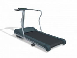 Rehabilitation treadmill 3d preview