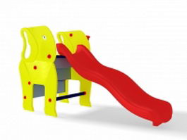 Elephant slide 3d preview
