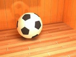 Soccer ball 3d preview