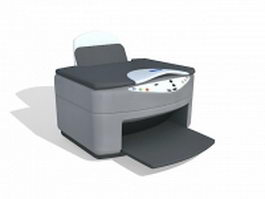 InkJet printer 3d preview