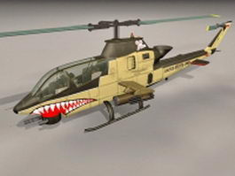 Ah Cobra Helicopter 3d preview