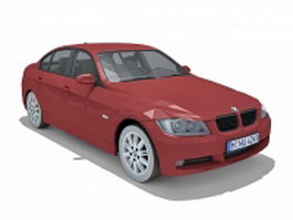 BMW 3 Series Sedan 3d model preview