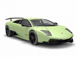 Lamborghini LP670 3d model preview
