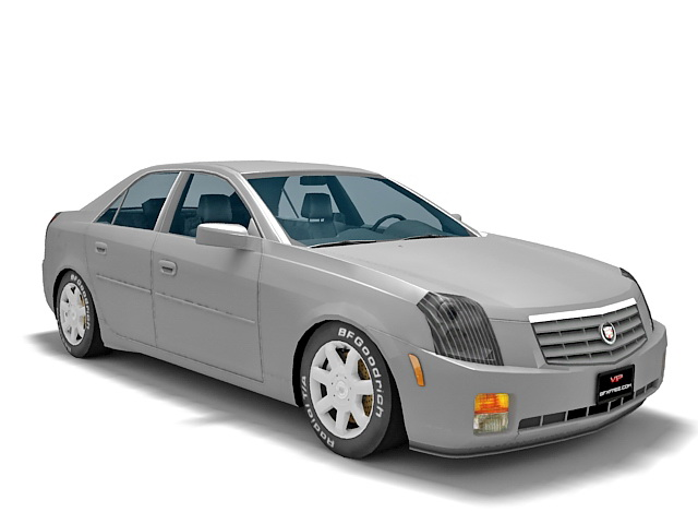 Cadillac CTS 3d rendering