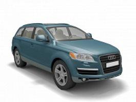 Audi Q7 3d preview