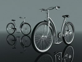 Utility bicycles 3d preview