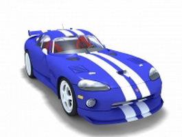 Dodge Viper 3d preview